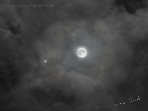 Bognár Tamás, Zákány - Moon and Jupiter - 2012.11.28.