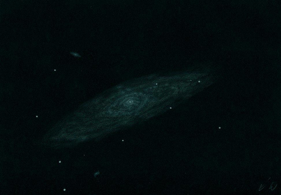 NGC 7184 - 406mm-newton, Dr. Johannes Schilling